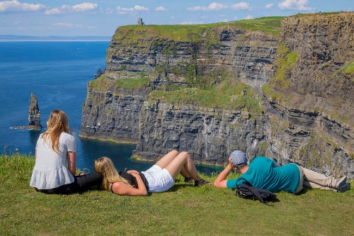 Cliffs of Moher on a Self Drive Tour