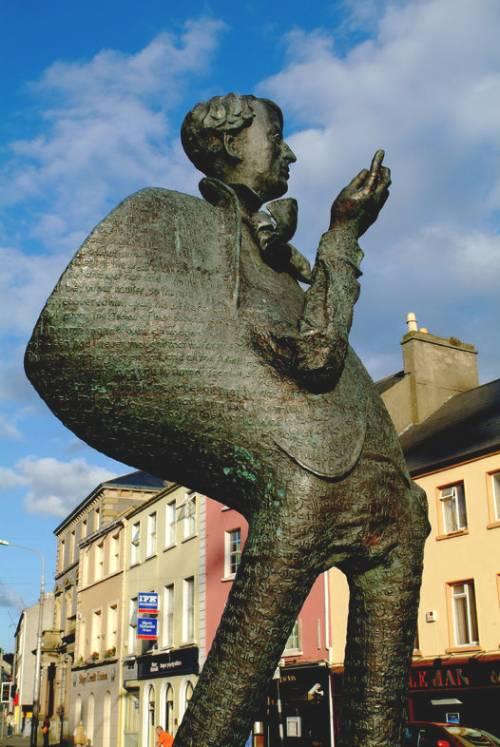 WB Yeats Statue Sligo